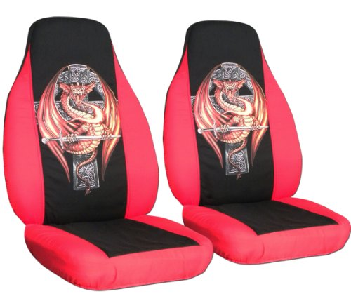 Redxavierzone Ordertoday 2 Red And Black Quot Dragon Quot Seat