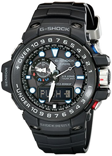 Casio G-shock Gulfmaster Analogue-digital Gwn-1000b-1ajf Men's Watch