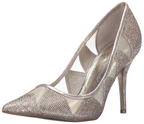 Adrianna Papell Women's Addison Dress Pump, Platinum, 7 M US (Platinum Heels For Women compare prices)