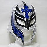 WWE小さな巨人 レイ・ミステリオ 応援用ソフトマスク byアレナメヒコ 白×ブラック/ネイビー