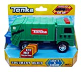 Tonka Toughest Minis Green Garbage Truck - Lights & Sounds