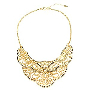 HONEYJOY Angel Wings Unique Irregularity Shape Slimsy Necklet Necklace