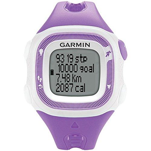 Garmin Refurbished Forerunner 15 Watch, Violet/White