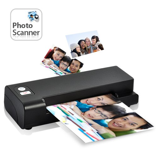 ON OFFER - Easy Feed One-Touch Photo and Business Card Scanner- WINTER Sale