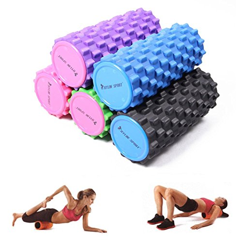 High Quality Foam Roller Yoga Block Pilates Relax Column 5colors Gym Fitness Sporting Equipment