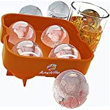 The Aunchitha Ice Ball Maker, The Best Ice Ball Mold, Ice Spheres Melt Slowly, Don't Water Down Your Drinks