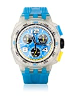 Swatch Reloj de cuarzo Unisex SMOOTH WAVE SUIK401 43 mm