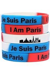 1 Je Suis Paris Wristband - I Am Paris Bracelet - Show Support for France