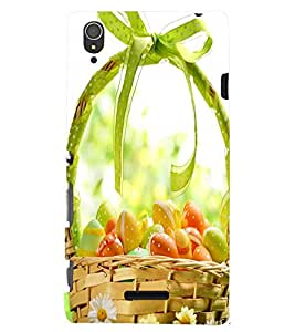 PRINTSWAG FRUITS BASKET Designer Back Cover Case for SONY XPERIA T3