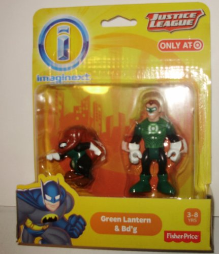 Imaginext DC Justice League Green Lantern & Bdg
