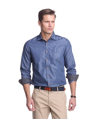 Fresh Men's Long Sleeve Chambray Shirt