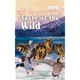 Taste of the Wild Dry Dog Food, Wetlands Canine Formula with Roasted Wild Fowl, 30-Pound Bag ~ Taste of the Wild