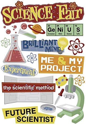 Karen Foster Design Acid And Lignin Free Scrapbooking Sticker Sheet, Science Fair
