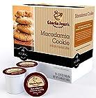 Gloria Jean's Macadamia Cookie Flavored Coffee - 18 K-cups for Keurig Brewer