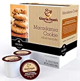 Gloria Jeans Macadamia Cookie Flavored Coffee - 18 K-cups for Keurig Brewer