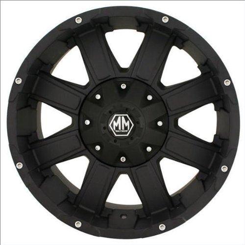 Mayhem Chaos 8030 Matte Black Wheel (18x9/8x180mm)
