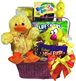 Delight Expressions™ Lucky Ducky Chocolate and Candies Easter Gift Basket - For Kids