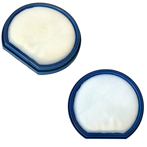 Hqrp Primary Filter 2-Pack For Hoover 303173002 303173001 H-303173001 Uh70215 Uh70210 Uh70200 Uh70205 Uh70130 Uh70120 Uh70110 Uh70115 Uh70105 Uh70100 Uh70100Rm Uh70110Rm Uh70200Rm T-Series Windtunnel Purely Clean Pet Rewind Bagless Upright Vac Vacuum Clea