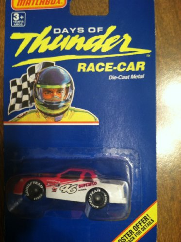 Matchbox Days of Thunder #46 Die Cast Race Car Metal