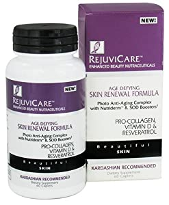 Rejuvicare Skin Renewal Formula Caps, 60 ct