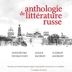 Anthologie de littérature russe Audiobook