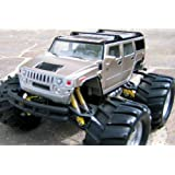 RC Hummer Off Road Monster Truck remote control RTRby Brigamo
