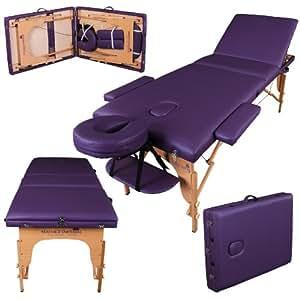 table de massage pro luxe massage imperial portable plateau 3 pi ces panneaux reiki. Black Bedroom Furniture Sets. Home Design Ideas