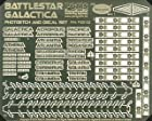 Battlestar Galactica Model Photoetch and Decal Set