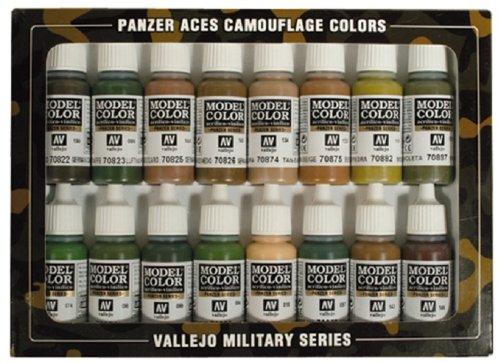 vallejo-model-color-mimetico-panzer-aces-set-pittura-acrilica-colori-assortiti-confezione-da-16