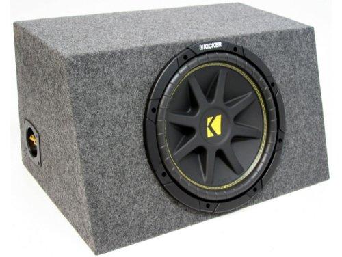 "Asc Package Single 15"" Kicker Sub Box Sealed Hatch Subwoofer Enclosure C15 Comp 500 Watts Peak"