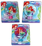 Disney the Little Mermaid Ariel Night Light-Assorted Styles and Colors