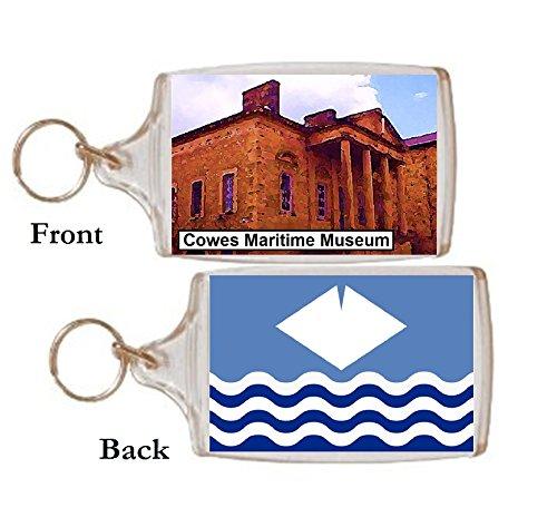 Schlüsselring Cowes Museum Geschenk Tourist Souvenir
