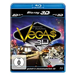 Las Vegas 3D (Blu-ray 3D + Blu-ray) [Region Free]