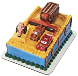 Tractor Tipping Signature Cake DecoSet Cake Decoration