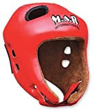 M.A.R International Ltd Kickboxing Head Guard Boxing Thai Boxing Mma Muay Thai Taekwondo Karate Judo Training Junior Red Red Junior