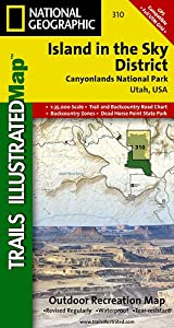 TI Map #310- Canyonlands- Island in the Sky District