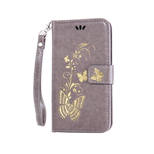 MIQLT Galaxy S3 Mini I8190 Slim Etui Coque PU pour Samsung Galaxy S3 Mini I8190 Flexible Souple Housse Soft Case Couverture Housse Protection