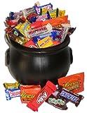 Happy Halloween! Witch's Cauldron of Chocolate Gift Basket