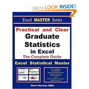 Download book Practical and Clear Graduate Statistics in Excel - The Excel Statistical Master