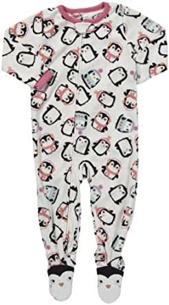 Carter's L/S Footed Blanket Sleeper - Penguin- 12 Months
