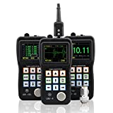 YUSHI UM-4DL Handheld Portable Ultrasonic Thickness Gauge Tester Meter 0.025'' to 20'' w/ TC510 Probe Through Paint & Coatings & Data Logger,Interchangeable Probe/Transducer Option Available