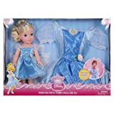 My First Disney Princess Cinderella Doll and Toddler Dress Gift Set