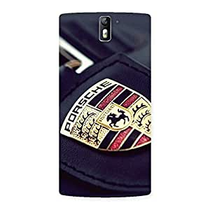 Cute Porse Multicolor Back Case Cover for One Plus One