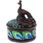 Peacock Jewelry Box