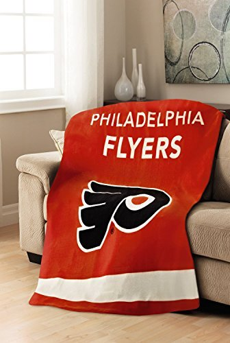 Sunbeam NHL Fleece Heated Throw, Philadelphia Flyers by Sunbeam (Sunbeam Nhl Fleece Heated compare prices)