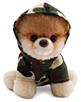 "Gund 5"" Itty Bitty Boo in Camo Hoodie Plush from Gund"