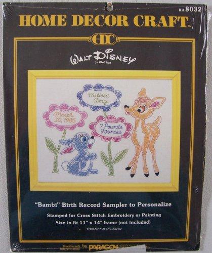 Home decor craft kit 8032 walt disney character bambi Q home decor marina mall