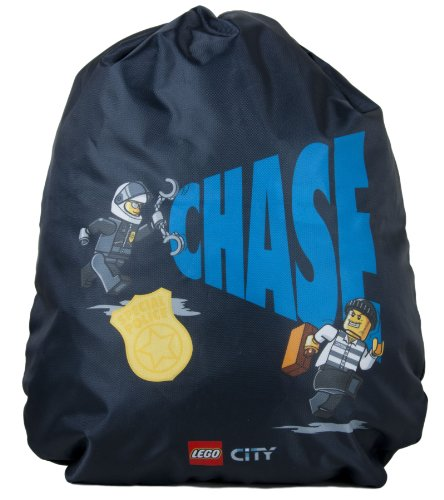 LEGO Cinch Sack City Police Catch The Crook, Black, One Size