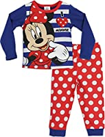 Character Girls Disney Minnie Mouse Pyjamas Ages 18 Months to 10 Years