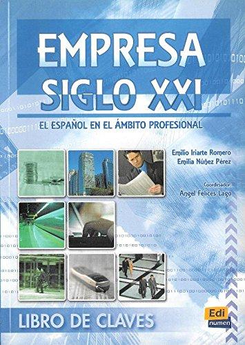 empresa-siglo-xxi-libro-de-claves-company-21th-century-key-book-el-espanol-en-el-ambito-profesional-